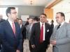 Türkischer Generalkonsul Aslan Alpers Yüksel und Baktat-Gründer Mustafa Baklan - Deutsch/Türkische Informationsveranstaltung zur Existenzgründung