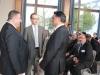 Wirtschaftsminister Maas mit Mustafa Baklan und Faruk Sahin - Deutsch/Türkische Informationsveranstaltung zur Existenzgründung