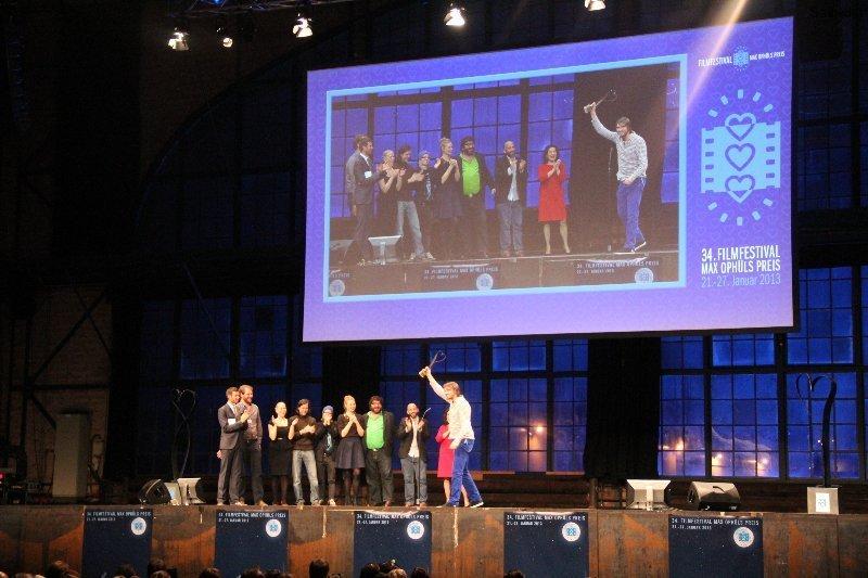 Preisverleihung Max-Ophüls-Festival