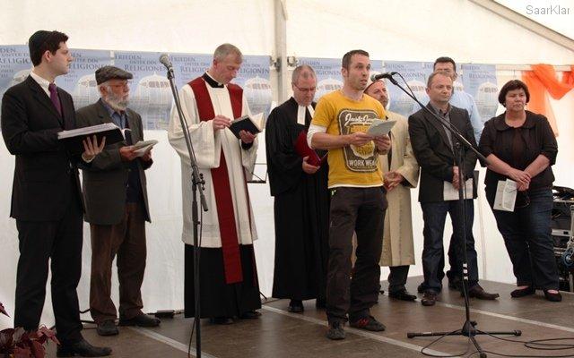 Friedensgebet Saarbrücken 2013