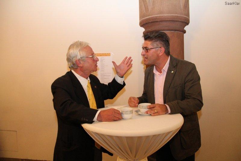 Immigra 2012 - Dr. Mustafa Akin und Giovanni Barba