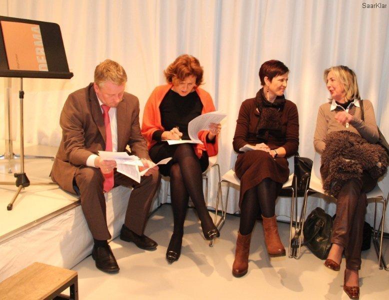 Neueröffnung Stadtgalerie - Ulrich Commercon, Charlotte Britz, Dr. Andrea Jahn