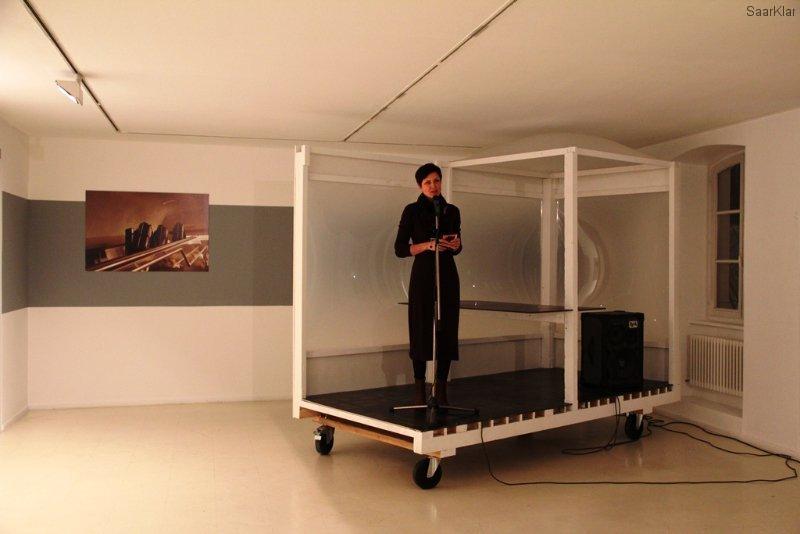 Neueröffnung Stadtgalerie - Die Leiterin Dr. Andrea Jahn