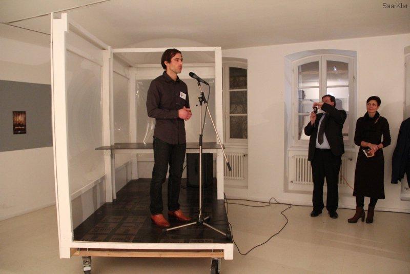 Neueröffnung Stadtgalerie - Künstler Pablo Wendel