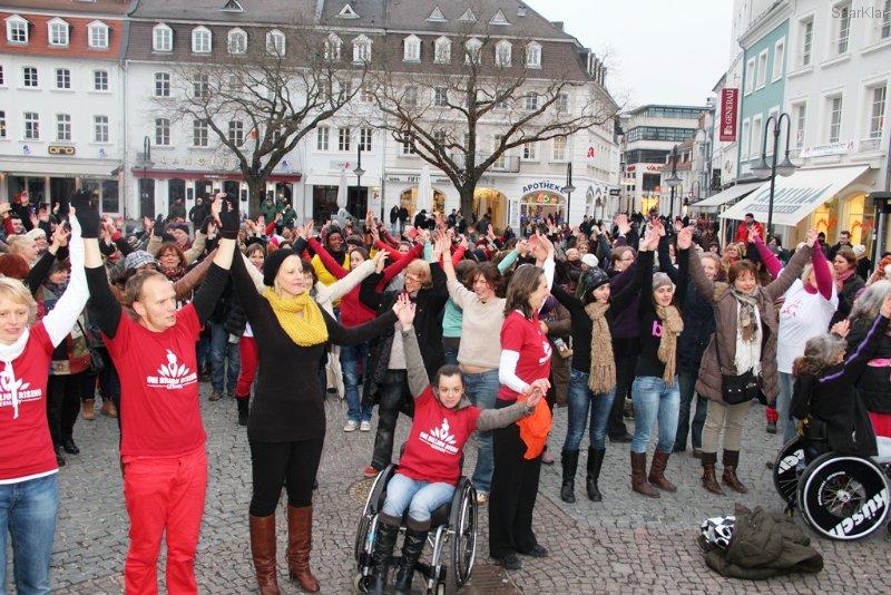 One Billion Rising Saarbrücken 14.02.2013