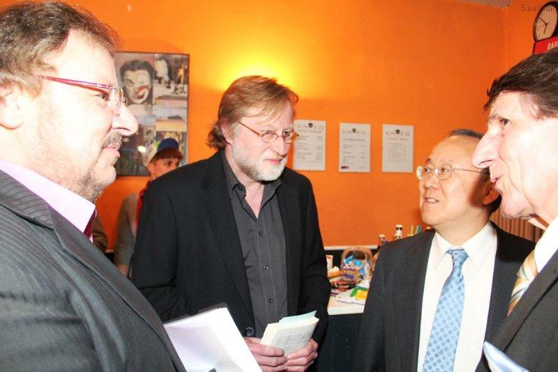Botschafter Nakane und Jörg Witte