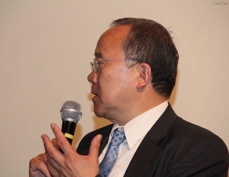 Japanischer Botschafter in Deutschland Takeshi Nakane