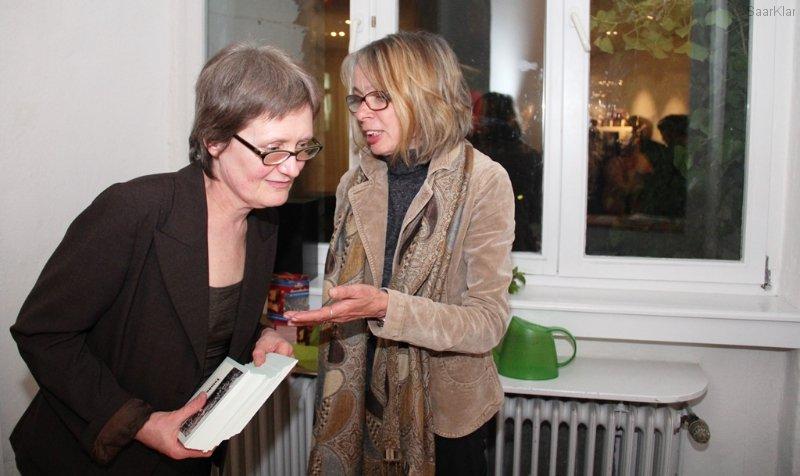 Brigitte Krause und Sigrid Jost