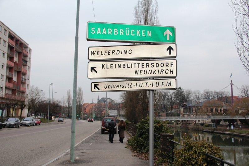 Von Saarbrücken aus auch gut mit dem Auto, Fahrrad oder Boot zu erreichen