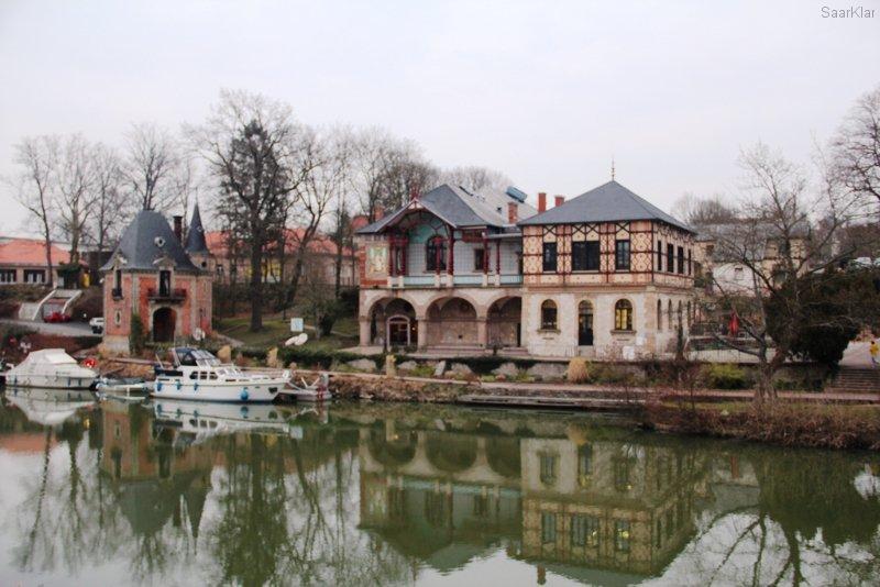 Casino et Pavillon de Geiger à Sarreguemines - Theaterstandort und unser Ziel