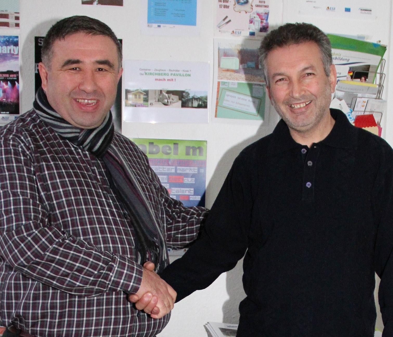 Faruk Sahin und Özkan Korkmaz