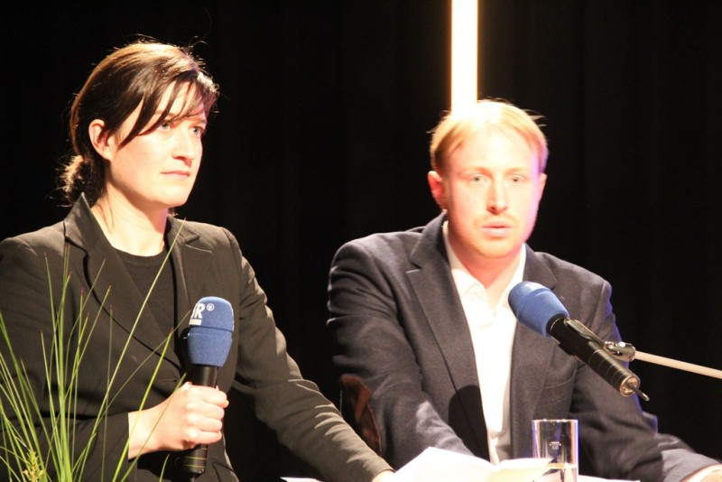 """Tilla Fuchs und Johannes Kloth, die ersten """"Ensemble"""" Preisträger"""