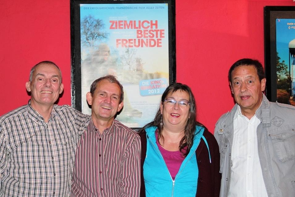 Theo, Waldemar, Ingrid und Gerd sind das Erfolgsteam und nebenbei die ziemlich beste Freunde