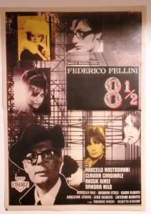 Filmplakat Federico Fellini 8 1/2