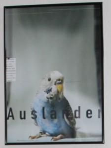 Werbeplakat für Ausländerbeiratswahlen 2002/Agentur Maksimovic