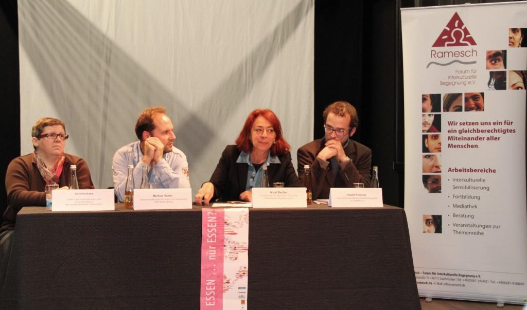 Veronika Kabis, Marcus Vetter, Igbal Berber und Harald Kreuzer