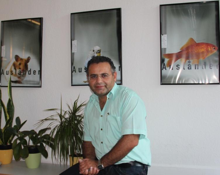 Yusuf Gectan, Vorsitzender der Kurdischen Gemeinde Saarland e.V.