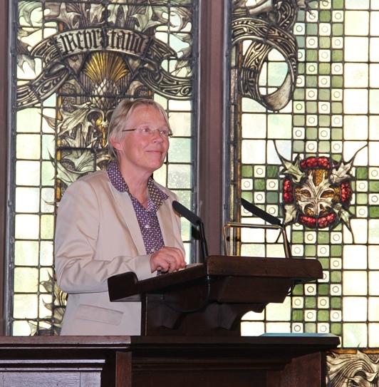 Dr. Annette Keinhorst, Leiterin der FrauenGenderBibliothek Saar